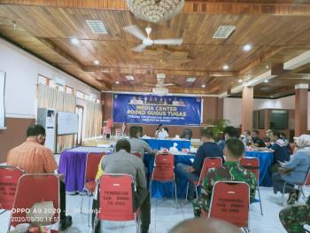 Rapat Satgas Gugus Tugas Covid-19 Kab. Bungo tentang perubahan status dari Siaga Darurat menjadi Tan